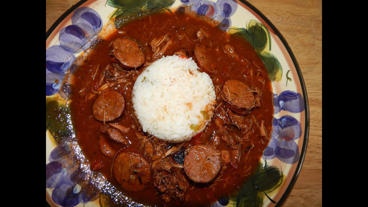 recipe: paul prudhomme chicken and sausage gumbo [24]