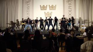 African night 2012 Gustavus Adolphus College (West African Dance AZONTO!!!!)