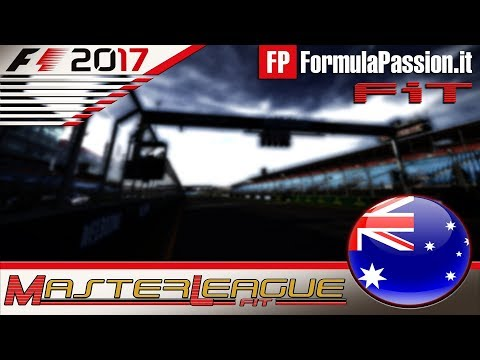 Master League FormulaPassion.it F1 2017 #01 GP Australia Melbourne 05.10.17 - Live Streaming 1080p