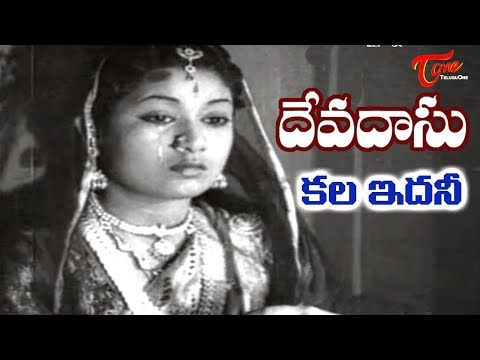 Old Songs| Devadasu Movie | Kala Idhani Song | ANR | Savitri - OldSongsTelugu