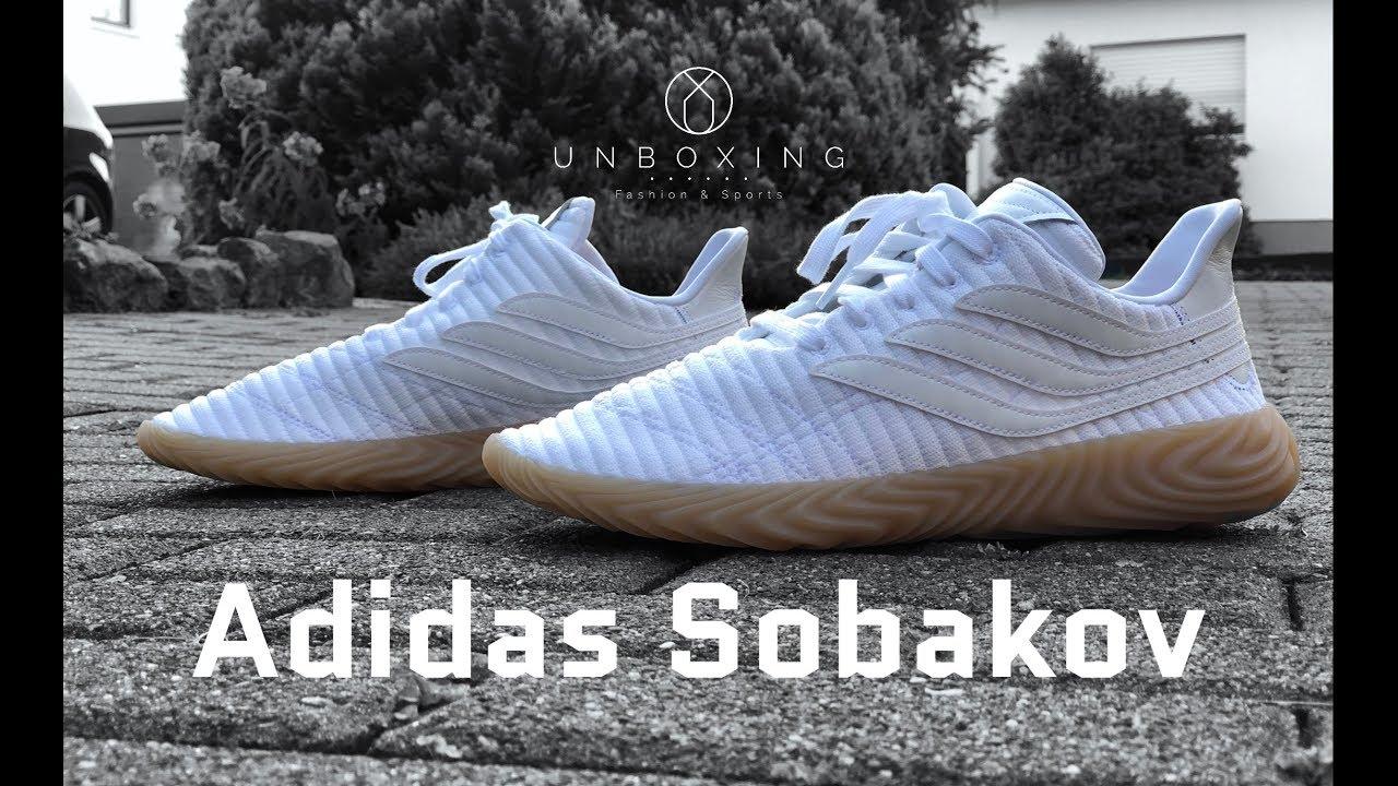 Adidas SOBAKOV  Ftw white Gum3   8ecd42569