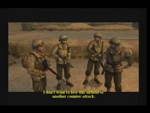 Call Of Duty 2 The Big Red One : Walkthrough Part 2