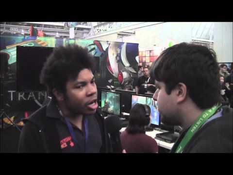 PAX East 2014 interview with Logan Cunningham at Supergiant Games