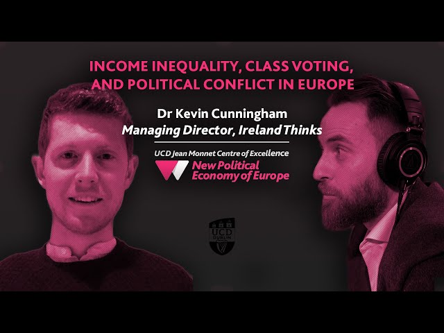 Income inequality, class voting & Political Conflict | Europe's New Political Economy Podcast S03E04