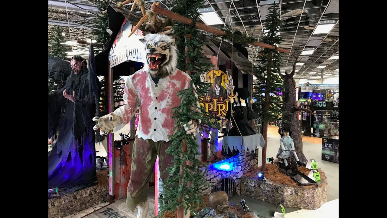 spirit halloween superstores 2017 tour costumes animatronics decorations