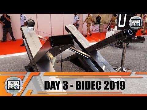 BIDEC 2019 Bahrain International Defense Exhibition Manama army show daily News Day 3