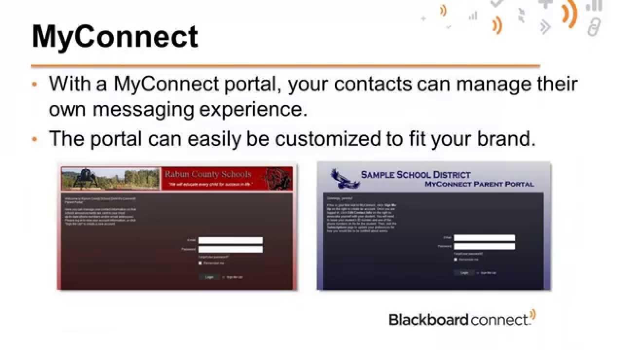 MyConnect Portal | Blackboard Help