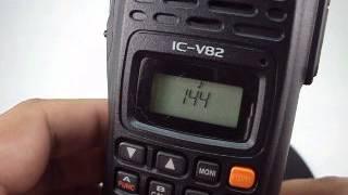 ทดสอบการใช งาน icom ic v82