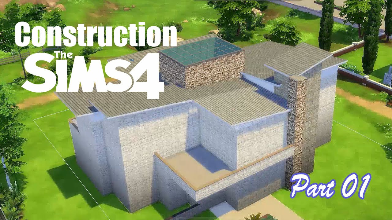 D co co sims 4 maison industrielle part 01 youtube for Exterieur sims 4