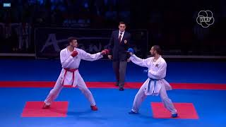 53rd EKF Senior Championships - Ukraine-Portugal - Full Fight