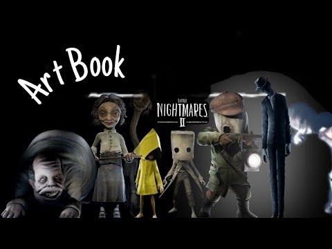 Little Nightmare II-Digital Art Book |