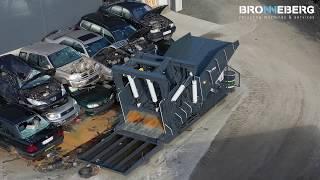 Bronneberg Car Flattener - Autofalter - Car baler - Bilpressar - Aplatisseur Voitures - Autopletter