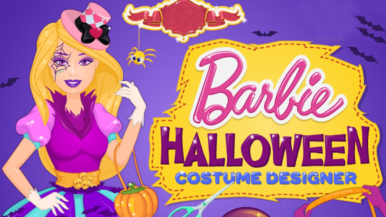 barbie halloween video game barbies halloween costume dress up new halloween game for girls - Barbie Halloween Dress Up Games