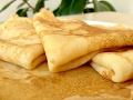 Обалденные домашние блины блинчики - вкусно и быстро  tasty crepes recipe  english subtitles