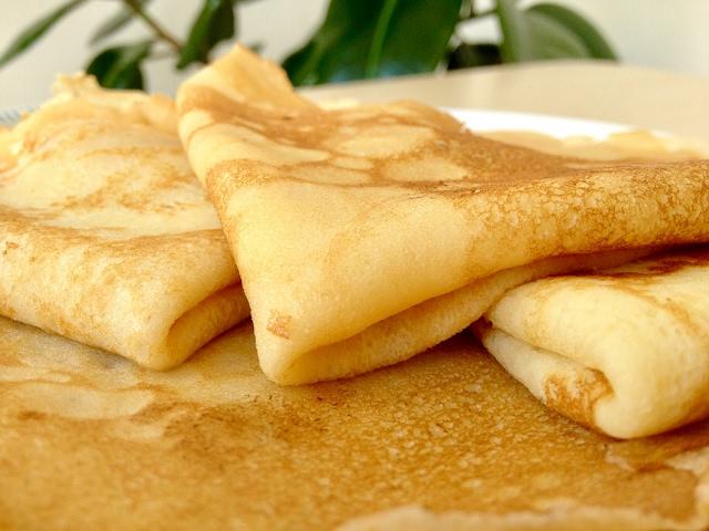 Изображение Обалденные Домашние Блины (Блинчики) - Вкусно и Быстро | Tasty Crepes Recipe,  ENGLISH SUBTITLES