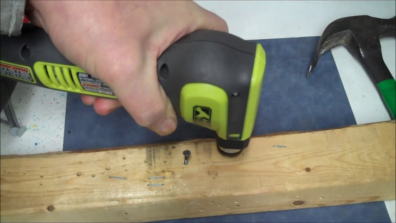 Ryobi Auto Hammer Review And Demonstration