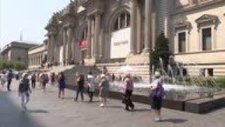 Metropolitan Museum Of Art Reopens In New York