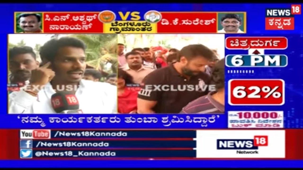 News @8pm | Kannada Election Breaking News | Top Headlines | Apr 18, 2019