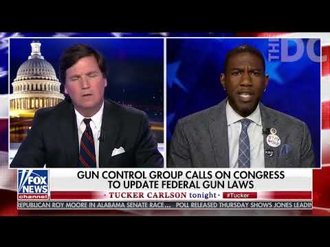 Tucker Calls Out Left's Obsession with Banning Guns