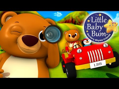 The Bear Went Over The Mountain | Nursery Rhymes | By LittleBabyBum!