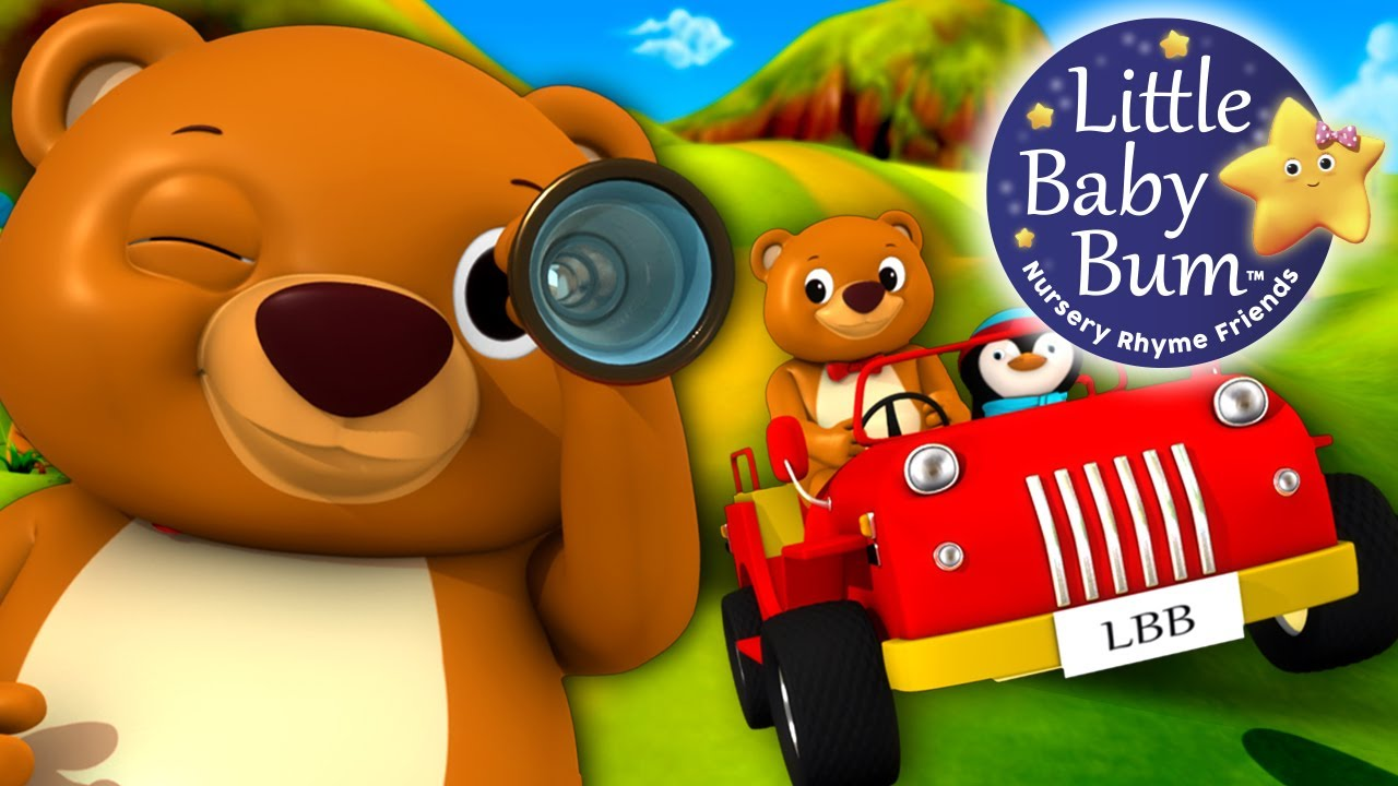 The Bear Went Over The Mountain | Nursery Rhymes | By ...