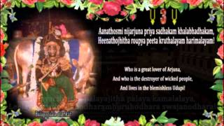 ▶ Sri Krishnashtaka Palayachuta with English translation