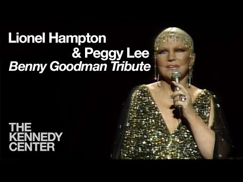 Lionel Hampton and Peggy Lee (Benny Goodman Tribute) - 1982 Kennedy Center Honors