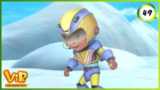 Vir: The Robot Boy | Himalayan Penguins | Action cartoons for Kids | 3D cartoons