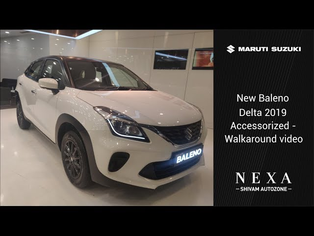 New Baleno Delta 2019 Accessories - Walkaround | Shivam Autozone