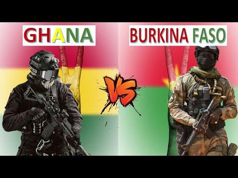 Ghana vs Burkina Faso Military Power Comparison 2021