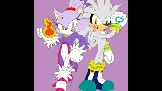 Tron Silver Hedgehog and Blaze The Cat part 2 Music Bentley Jones Dreams of an Absolution 2011