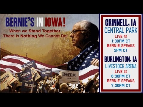 LIVE from the Burlington, IA Town Meeting with Bernie Sanders