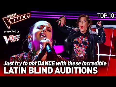 The BEST LATIN Blind Auditions on The Voice 💃 | Top 10 | Presented by @La Voz Global