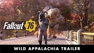 Fallout 76 Wild Appalachia Trailer PEGI