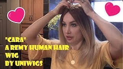 Cara by Uniwigs: a beautiful full lace remy human hair wig review by Sasha