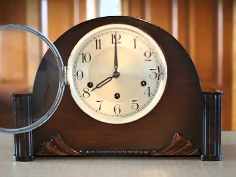 Chime Sign In >> Whittington Chime - Vintage Haller Mantel Clock - YouTube