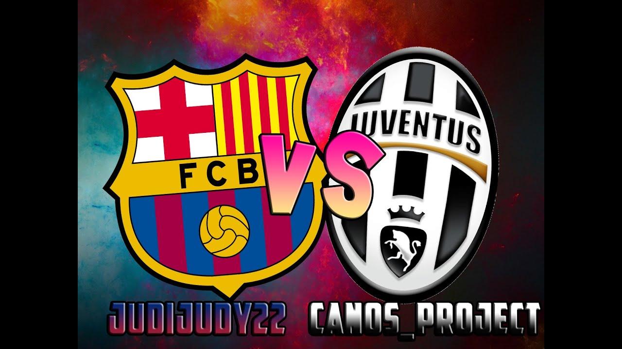 FC Barcelona vs. Juventus | FIFA 15 - YouTube