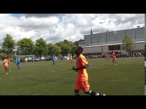 GOTHIA CUP 2016  - Lusaka Youth Academy vs Sporting Duet FC (ENG) 1 - 0
