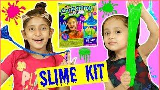Anantya &amp Anaya Makes GLITTER &amp COLOURFUL SLIMES ..  #Kit #Unboxing #MyMissAnand #ToyStars