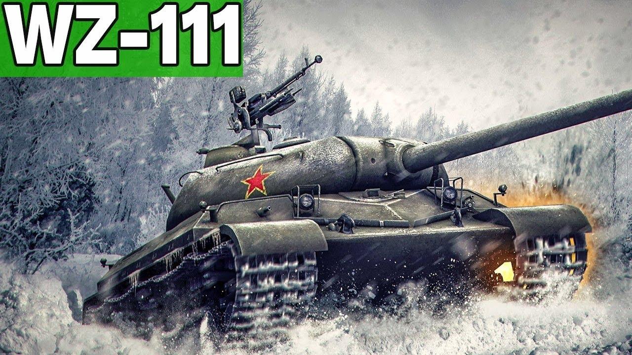 WZ-111 – KALENDARZ ADWENTOWY  – World of Tanks