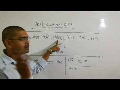 UNIT CONVERSION,(मीटर ,ग्राम ,लीटर )