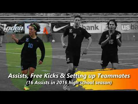 Johnny Rodas-Hills (ALL American) College Soccer Recruiting 2016 Season Highlights (Class Of 2018)