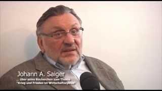 Johann Saiger über Ukraine, Deutschland und Russland