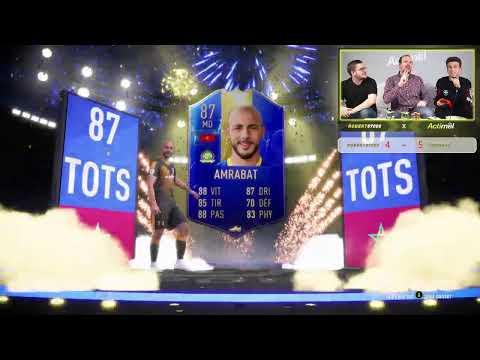 FIFA 19 - SI JE GAGNE J'OUVRE DES GROS PACKS POUR LA TOTS PREMIER LEAGUE  !