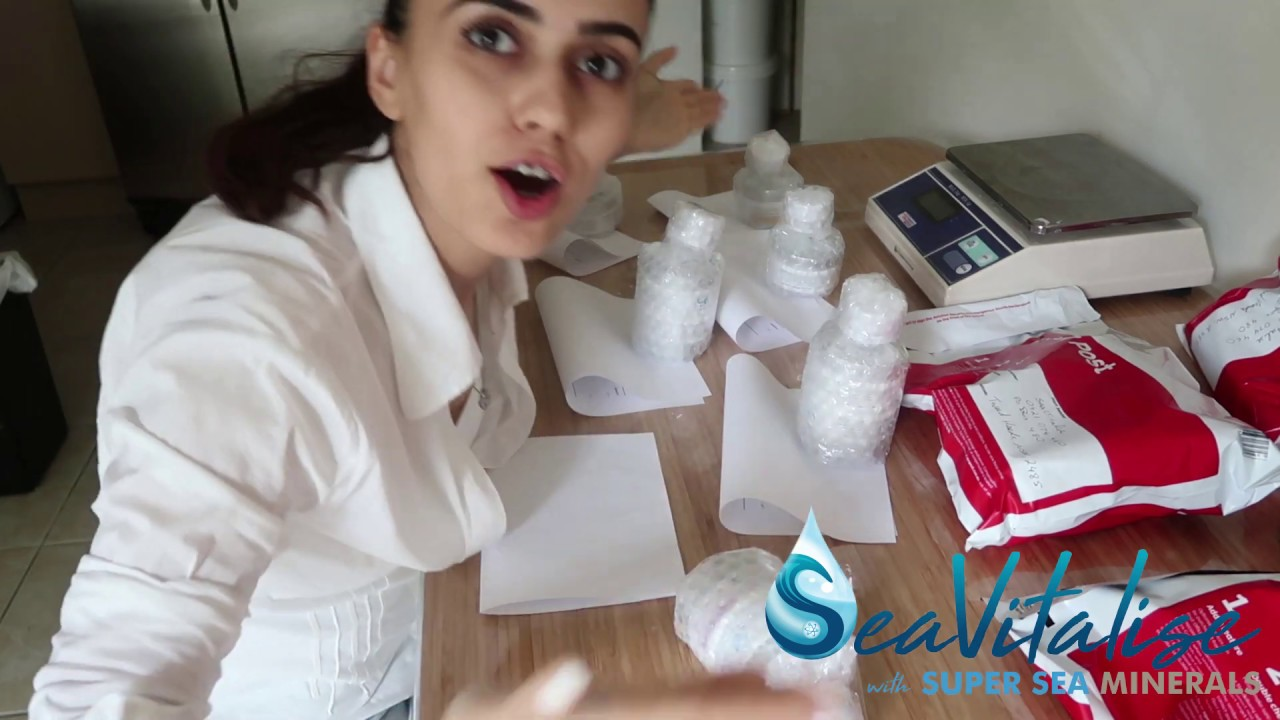 SeaVitalise with Super Sea Minerals | Making and Preparing Natural Products