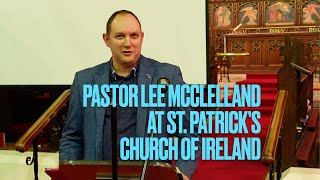 Pastor Lee McClelland at St  Patrick's