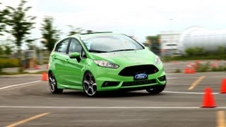2014 Ford Fiesta ST Review(With nearly 200 hp, a sport tuned chassis and less than 2800 lbs. of weight, the Fiesta ST has all the performance hardware of a proper hot hatch. But can it live ..., 2013-08-29T18:57:22.000Z)