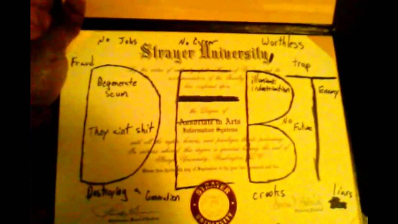 burn your college degree burn your college degree