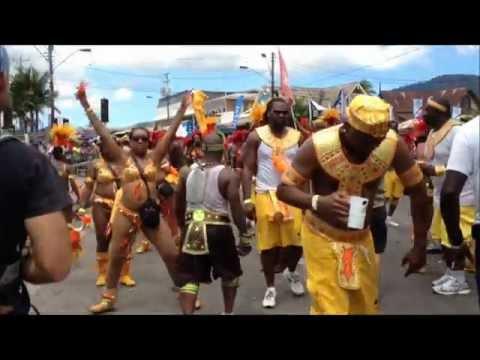 Trinidad Carnival 2012... ELEMENTS..Wee international on de Road