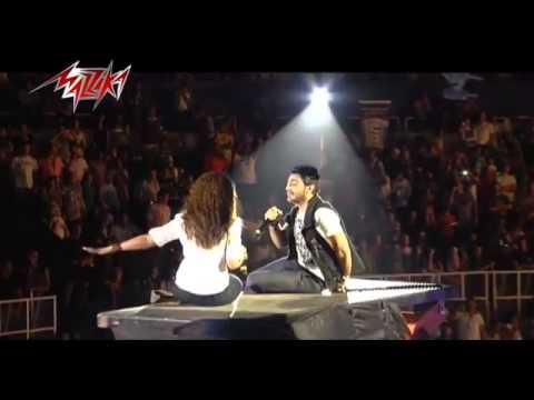 Etamen   Tamer Hosny أطمن   حفلة   تامر حسنى   YouTube